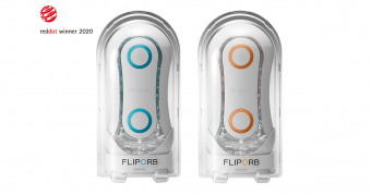 Le TENGA FLIP ORB BLUE RUSH et ORANGE CRASH remporte le « Red Dot Design Award Product Design 2020, la plus haute récompense internationale dans le domaine du design !